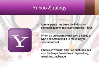 Makeup brush PowerPoint Template - Slide 11