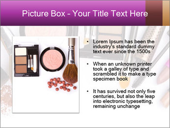 Makeup brush PowerPoint Template - Slide 13