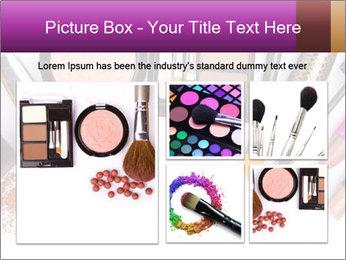 Makeup brush PowerPoint Template - Slide 19