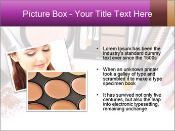 Makeup brush PowerPoint Template - Slide 20