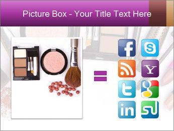Makeup brush PowerPoint Template - Slide 21