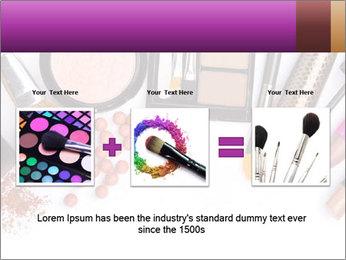 Makeup brush PowerPoint Template - Slide 22