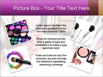 Makeup brush PowerPoint Template - Slide 24