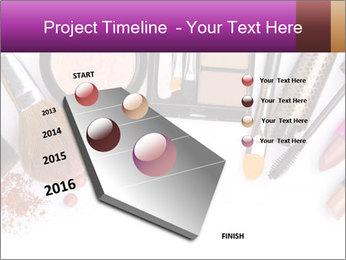 Makeup brush PowerPoint Template - Slide 26