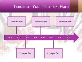 Makeup brush PowerPoint Template - Slide 28