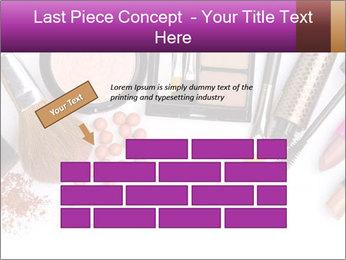 Makeup brush PowerPoint Template - Slide 46