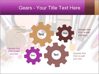 Makeup brush PowerPoint Template - Slide 47