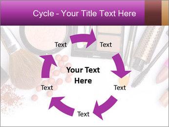 Makeup brush PowerPoint Template - Slide 62