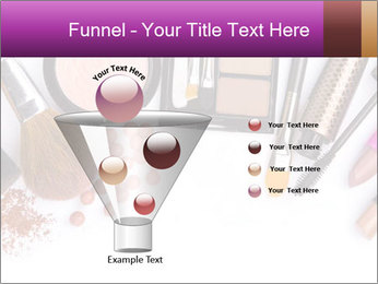 Makeup brush PowerPoint Template - Slide 63