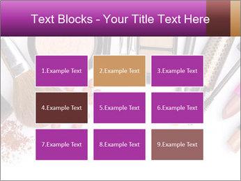 Makeup brush PowerPoint Template - Slide 68