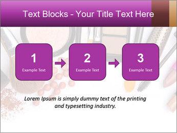 Makeup brush PowerPoint Template - Slide 71