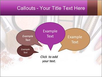 Makeup brush PowerPoint Template - Slide 73