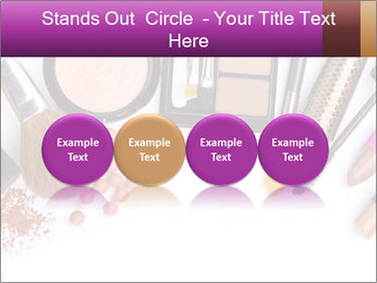 Makeup brush PowerPoint Template - Slide 76