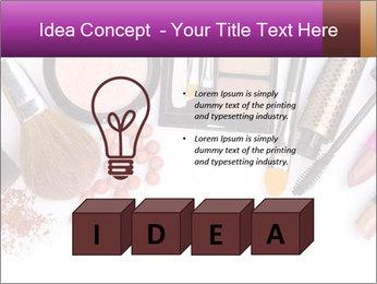 Makeup brush PowerPoint Template - Slide 80