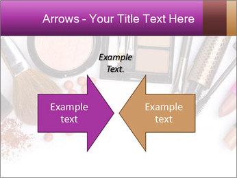 Makeup brush PowerPoint Template - Slide 90