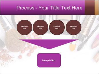 Makeup brush PowerPoint Template - Slide 93