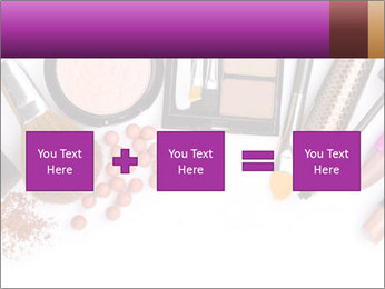 Makeup brush PowerPoint Template - Slide 95