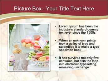 French macarons PowerPoint Template - Slide 13