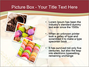 French macarons PowerPoint Template - Slide 17