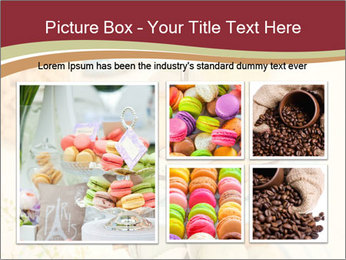 French macarons PowerPoint Template - Slide 19