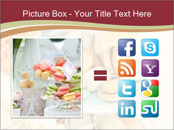 French macarons PowerPoint Template - Slide 21