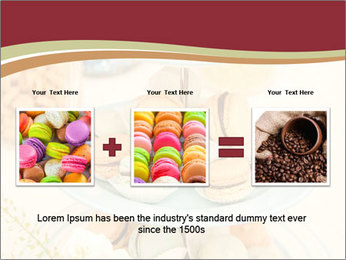French macarons PowerPoint Template - Slide 22