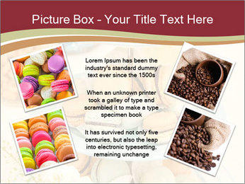 French macarons PowerPoint Template - Slide 24