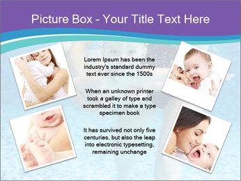 Little boy learning to swim PowerPoint Template - Slide 24