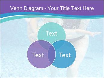 Little boy learning to swim PowerPoint Template - Slide 33