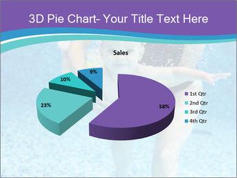 Little boy learning to swim PowerPoint Template - Slide 35