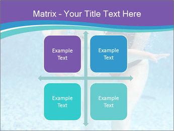 Little boy learning to swim PowerPoint Template - Slide 37
