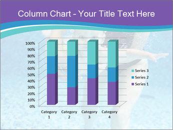 Little boy learning to swim PowerPoint Template - Slide 50