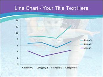 Little boy learning to swim PowerPoint Template - Slide 54