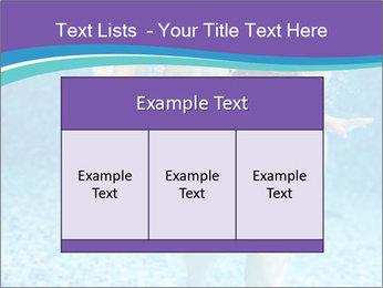 Little boy learning to swim PowerPoint Template - Slide 59