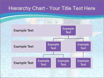 Little boy learning to swim PowerPoint Template - Slide 67