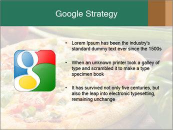 Freshly prepared pizza PowerPoint Template - Slide 10