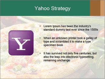 Freshly prepared pizza PowerPoint Template - Slide 11