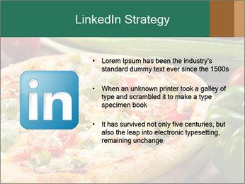 Freshly prepared pizza PowerPoint Template - Slide 12