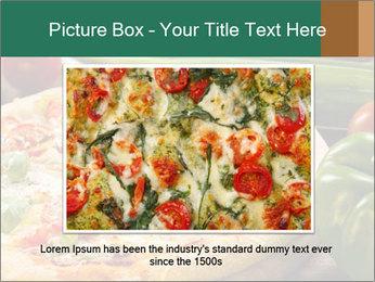 Freshly prepared pizza PowerPoint Template - Slide 16