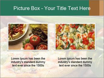 Freshly prepared pizza PowerPoint Template - Slide 18