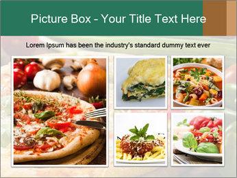 Freshly prepared pizza PowerPoint Template - Slide 19