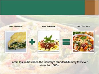 Freshly prepared pizza PowerPoint Template - Slide 22