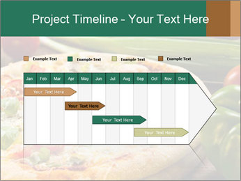 Freshly prepared pizza PowerPoint Template - Slide 25