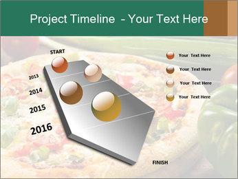 Freshly prepared pizza PowerPoint Template - Slide 26