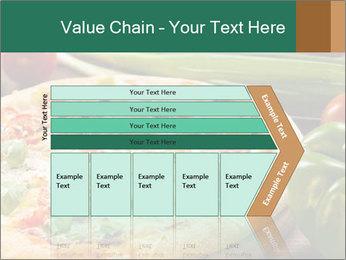 Freshly prepared pizza PowerPoint Template - Slide 27