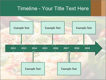 Freshly prepared pizza PowerPoint Template - Slide 28