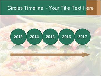 Freshly prepared pizza PowerPoint Template - Slide 29
