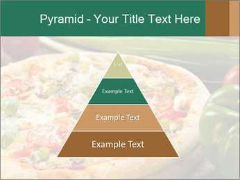 Freshly prepared pizza PowerPoint Template - Slide 30