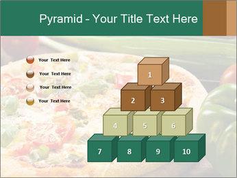 Freshly prepared pizza PowerPoint Template - Slide 31