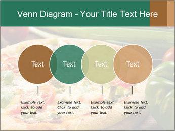 Freshly prepared pizza PowerPoint Template - Slide 32